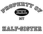Property of my HALF-SISTER