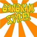Gangnam style orange