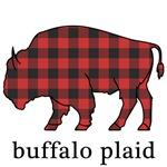 Buffalo Plaid with Text
