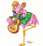 Flamingo Guitar