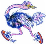 Running Ostrich