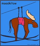 MOOSKITOW - moose cartoon