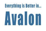 Better in Avalon T-shirts