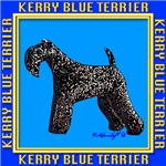 KERRY BLUE TERRIER STAMPS