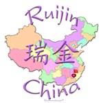 Ruijin Color Map, China