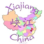 Xiajiang Color Map, China