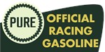 Pure Official Racing Gasoline vintage sign