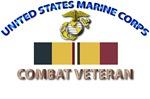 USMC - Combat Action Ribbon - Combat Veteran