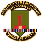 Army - 1st Infantry Div w Afghan Svc