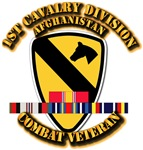 Army - 1st Cavalry Div w Afghan Svc