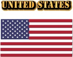 United States Flag w Txt
