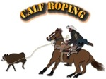 Calf Roping with Text