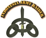 Indonesia Army Raider with Text