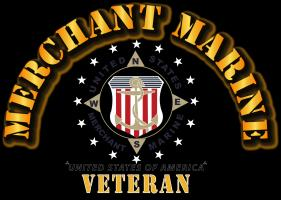 Merchant Marine Veteran w Seal