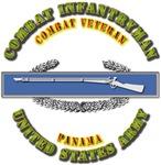 Army - CIB - 1st Award - Panama