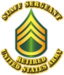 Army - Staff Sergeant E-6 - Retired
