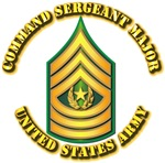 Army - Command Sergeant Major w Text