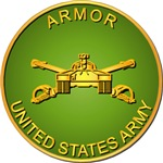 Army - Armor Branch - Plaque