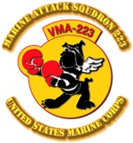 Marine Attack Squadron 223 with Text