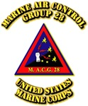 USMC - Marine Air Control Group 28 with Text