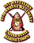 USMC - 1st Battalion - 8th Marine Regiment