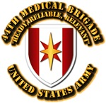 Army - SSI - 44th Medical Bde w Motto