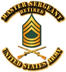 Army - MSG E-8 - Retired - Infantry