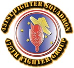 AAC - 431st Fighter SQ - 475th Fighter Group - 5th