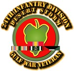 Army - DS - 24th INF Div