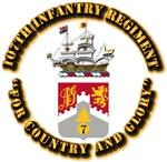 COA - 107th Infantry Regiment