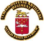 COA - 7th Air Defense Artillery Regiment