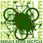 Environmental reCYCLE T-Shirts and Gifts