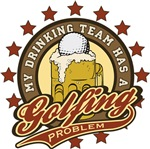 Golf Drinking Team