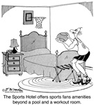 Unusual Sports Amenities At A Hotel