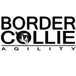 Border Collie Agility (black)
