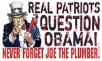 Question Obama 2008 Joe the Plumber McCain 20