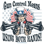 Uncle Sam Gun Control Gun Rights Gear