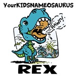 <b>Customizable Little Blue T-Rex Gear</b>