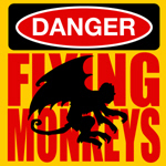 Danger, Flying Monkeys is a great addition to any Wizard of Oz Tshirt collection for the Oz fan in all of us.