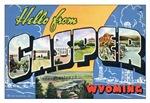 Casper Wyoming Vintage Postcard