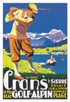 Vintage Swiss Golf