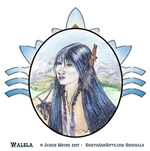 Walela, Native American Cherokee Maiden Art Gifts