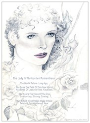 Lady Of The Rose, Illustrated Christian Poetry