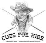 Cue For Hire, Billiard Cowboy Father's Day Gifts,