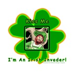 Irish Invader St Patrick Day T-shirt Humor