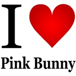 I Love Pink Bunny