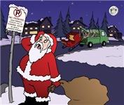 No Parking Santa