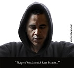 Obama-Trayvon (White Background)