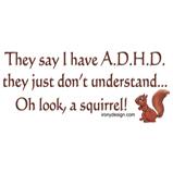 ADHD Squirrel