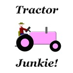 Pink Tractor Junkie